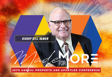 Join us & these Power Prophets - You were MADE FOR MORE